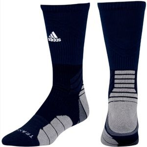 Adidas Menace Crew Traxion Socks Navy Blue XL